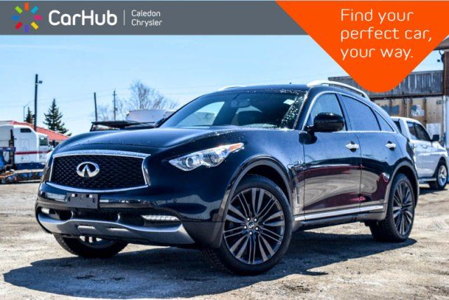 2017 INFINITI QX70 Sport AWD Navi Sunroof Backup Cam Bluetooth Push Start 21Alloy in Bolton, Ontario