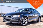 2015 Audi A3 TDI Komfort Diesel Pano Sunroof Bluetooth Heated Front Seats Leather 17Alloy Rims in Bolton, Ontario