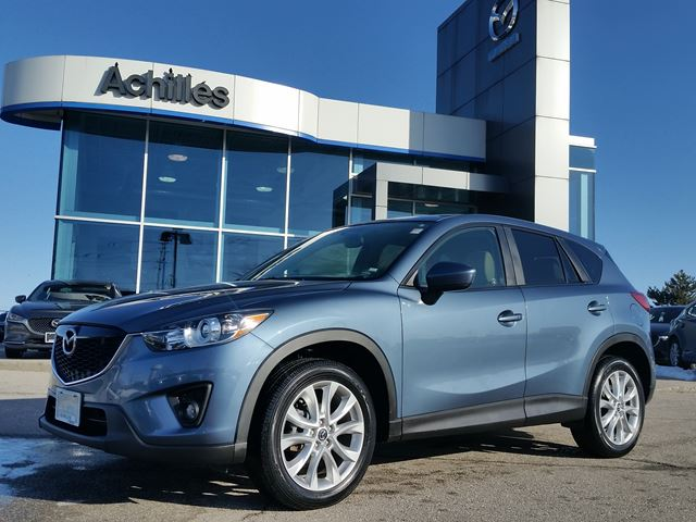 2014 Mazda CX-5 GT-AWD, Moonroof, Leather, Loaded in Milton, Ontario