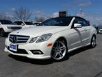 2011 Mercedes-Benz E-Class E550--CONVERTIBLE-HEATED LEATHER--NAVIGATION in Belleville, Ontario