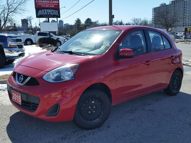 2015 NISSAN MICRA SV in Waterloo, Ontario