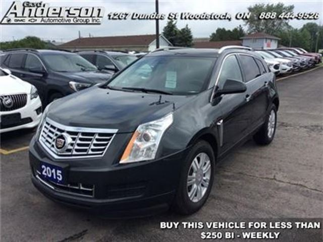 2015 CADILLAC SRX Luxury - Sunroof -  Leather Seats in Woodstock, Ontario