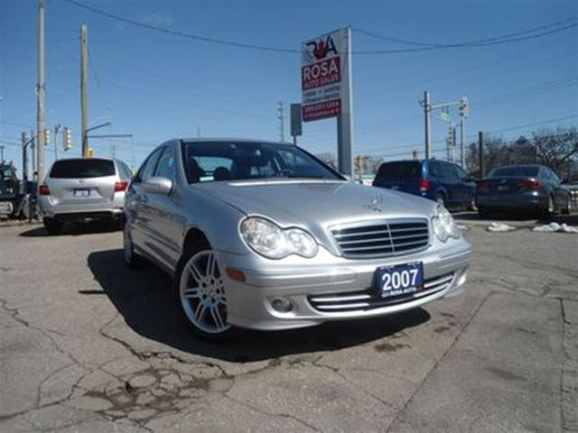 2007 MERCEDES-BENZ C-CLASS AUTO C-CLASS AWD  SUNROOF  PL,PW,PM ,PS in Oakville, Ontario