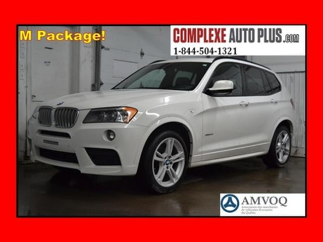 2014 BMW X3 xDrive28i M Sport Package! *Cuir brun,Toit pano. in Saint-Jerome, Quebec