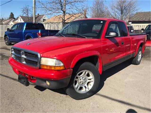 2002 Dodge Dakota Sport SELLING AS IS!! LOCAL TRADE IN!! in St Catharines, Ontario