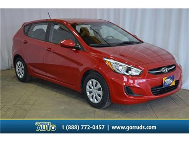 2016 Hyundai Accent GL/HEATED SEATS/LOW MILEAGE/BLUETOOTH in Milton, Ontario