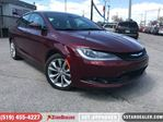 2015 Chrysler 200 S   AWD   V6   CAM   HEATED SEATS in London, Ontario
