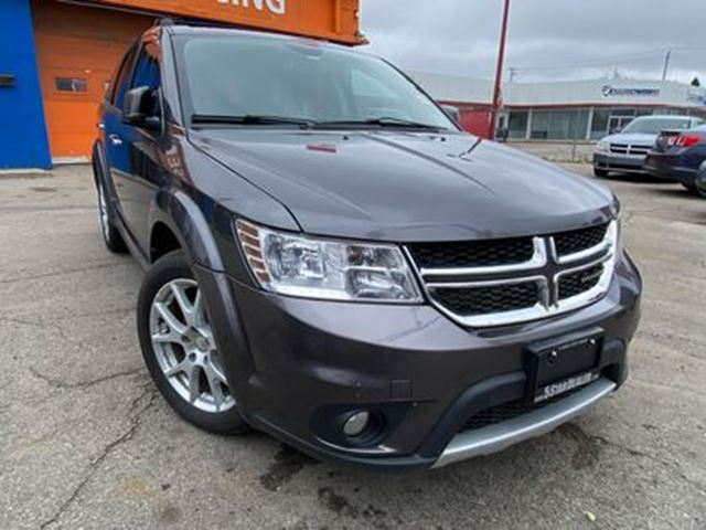 2014 DODGE JOURNEY R/T   AWD   LEATHER   5PASS   HEATED SEATS in London, Ontario