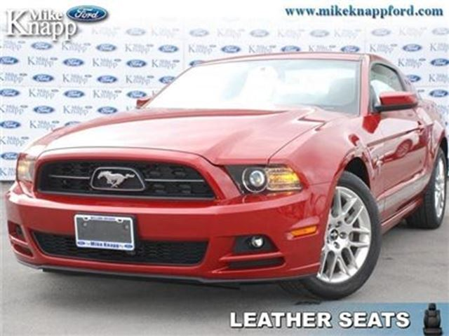 2013 Ford Mustang V6 Premium RWD, Low Mileage in Welland, Ontario
