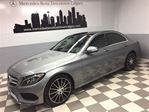 2015 Mercedes-Benz C-Class C400 4MATIC Intelligent Drive Sport Head-Up LED+ in Calgary, Alberta