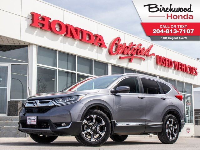 2017 HONDA CR-V Touring AWD in Winnipeg, Manitoba