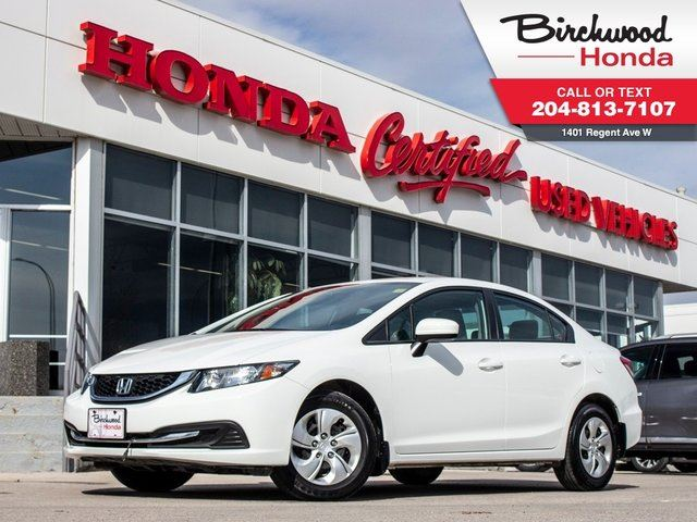 2015 HONDA CIVIC LX in Winnipeg, Manitoba