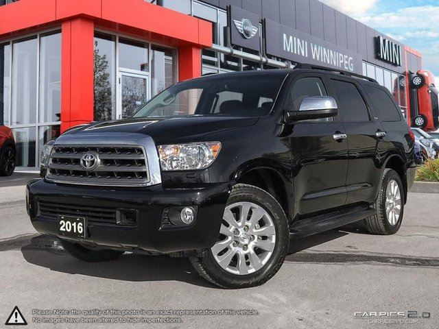 2016 TOYOTA SEQUOIA Platinum Platinum! Local! in Winnipeg, Manitoba