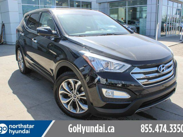 2013 HYUNDAI Santa Fe 2.0T SE AWD LEATHER/PANOROOF/BACKUPCAM in Edmonton, Alberta
