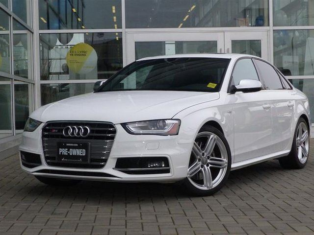 2015 AUDI S4 3.0T Technik quattro 7sp S tronic in Vancouver, British Columbia