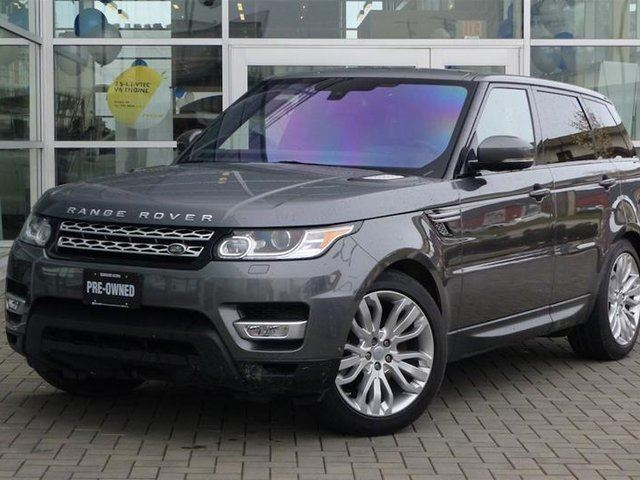 2016 LAND ROVER RANGE ROVER Sport Diesel Td6 HSE in Vancouver, British Columbia