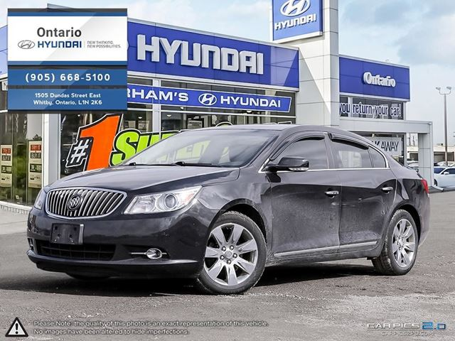 2013 BUICK LACROSSE Ultra Luxury Group in Whitby, Ontario