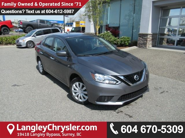 2016 NISSAN SENTRA 1.8 S in Surrey, British Columbia