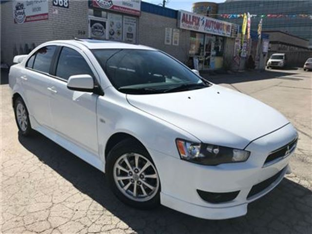 2010 Mitsubishi Lancer w/SUNROOF_ONE OWNER_ACCEDENT FREE - Oakville