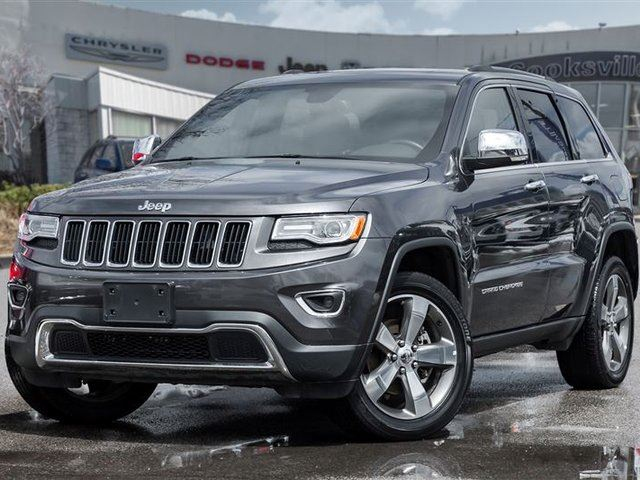 2016 JEEP GRAND CHEROKEE Limited in Mississauga, Ontario
