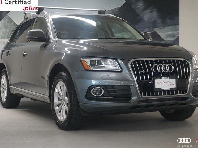 2016 AUDI Q5 2.0T Progressiv in Richmond, British Columbia