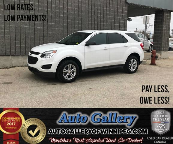 2017 CHEVROLET EQUINOX LS in Winnipeg, Manitoba