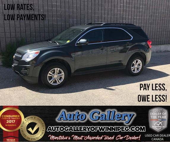 2014 CHEVROLET EQUINOX LT *B.Cam in Winnipeg, Manitoba