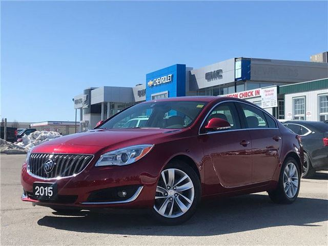 2015 BUICK REGAL Premium I Premium, HEATED SEATS, ONE OWNER, NO ACCIDENTS in Newmarket, Ontario