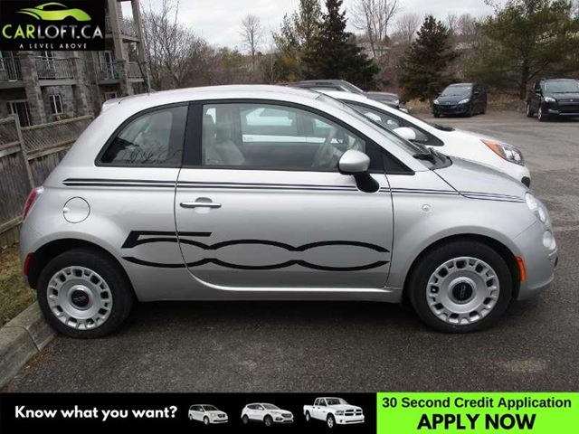2012 FIAT 500 POP - MANUAL * CRUISE * A/C in Kingston, Ontario