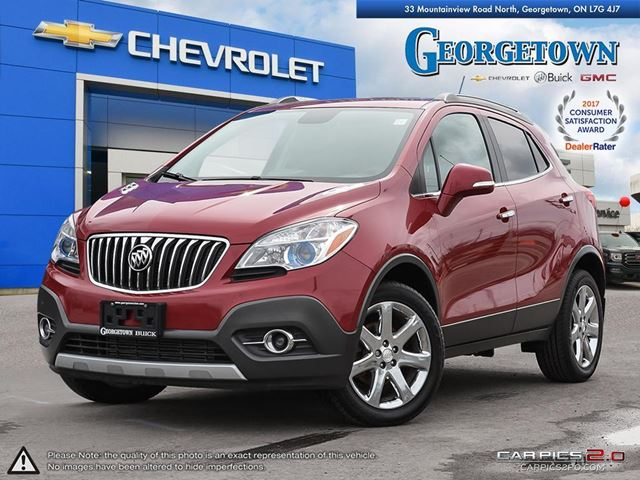 2014 BUICK ENCORE Leather Leather *NAVIGATION* in Georgetown, Ontario
