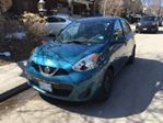 2015 Nissan Micra SV ~ 6 speed Manual & Convenience Pkge. in Mississauga, Ontario