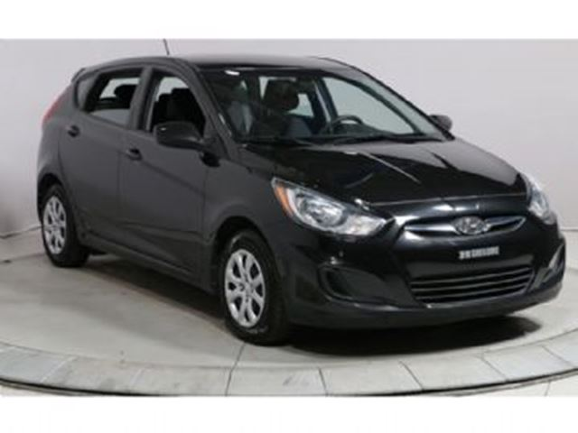 2014 HYUNDAI ACCENT 5dr HB Auto GL ~ Low km's ~ Low payment in Mississauga, Ontario