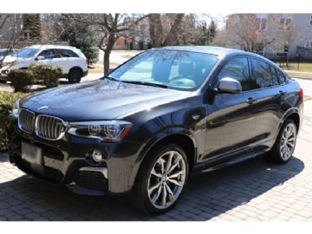 2017 BMW X4 AWD 4dr M40i ~$2000.00 Cash Incentive~ in Mississauga, Ontario