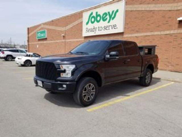 2016 FORD F-150 SuperCrew Lariat 4X4 in Mississauga, Ontario