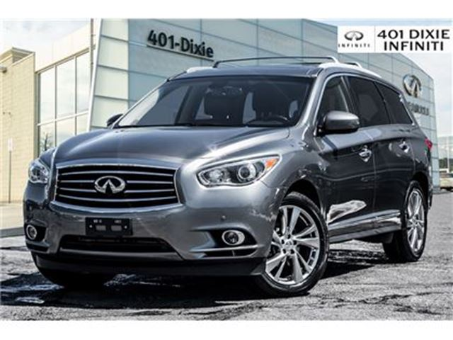 2015 INFINITI QX60 AWD, Technology Package! DVD, Blind Spot! in Mississauga, Ontario