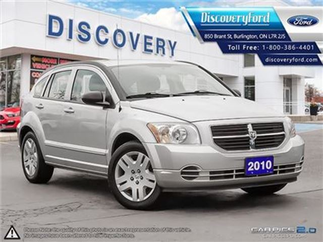 2010 DODGE CALIBER SXT in Burlington, Ontario