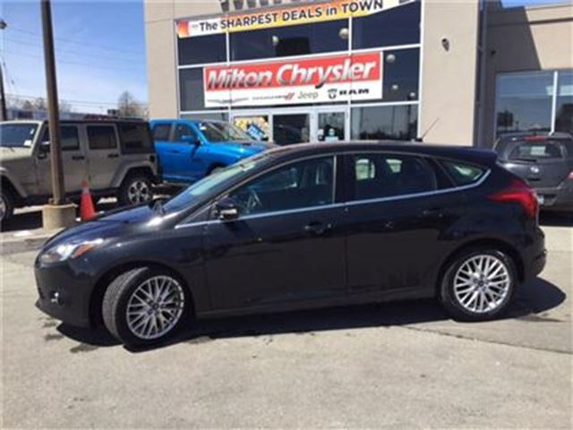 2013 FORD FOCUS Titanium LEATHER NAVIGATION BACK-UP CAMERA in Milton, Ontario