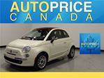 2013 Fiat 500 Lounge CONVERTIBLE LEATHER in Mississauga, Ontario