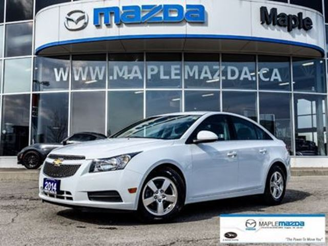 2014 CHEVROLET CRUZE 2LT, AUTO, A/C, ALL POWER in Vaughan, Ontario