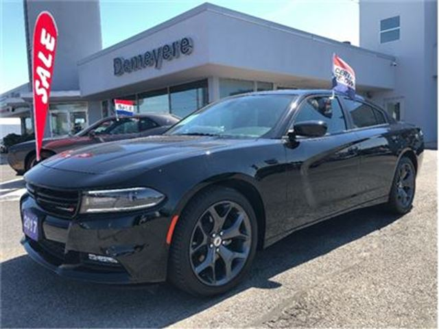2017 DODGE CHARGER SXT in Simcoe, Ontario