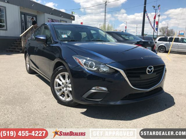 2015 MAZDA MAZDA3 GS   ONE OWNER   HEATED SEATS in London, Ontario