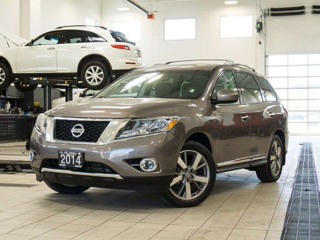 2014 Nissan Pathfinder Platinum Premium w/DVD & Panoramic Moonroof ...