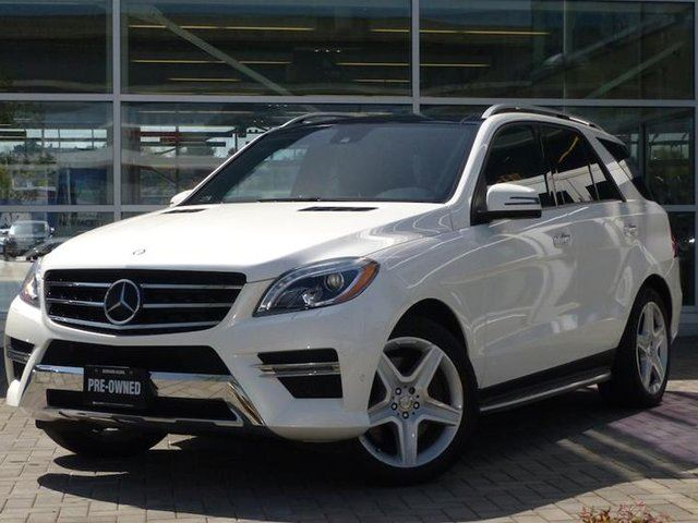 2013 MERCEDES-BENZ M-Class 4MATIC in Vancouver, British Columbia