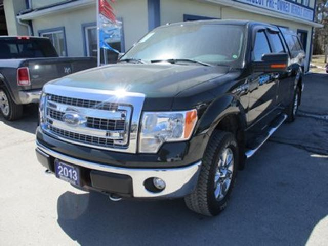 2013 FORD F-150 WORK READY XLT MODEL 6 PASSENGER 5.0L - V8.. 4X in Bradford, Ontario