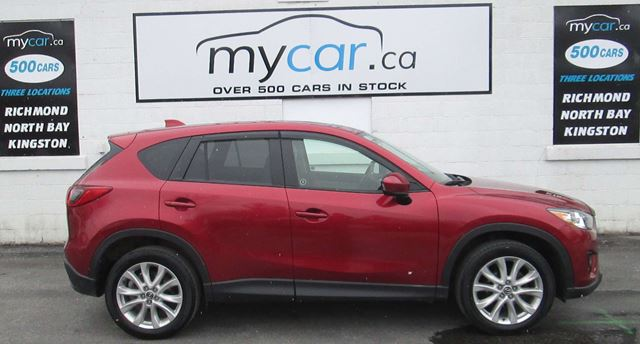 2013 MAZDA CX-5 GT LEATHER, SUNROOF, NAVIGATION in Kingston, Ontario