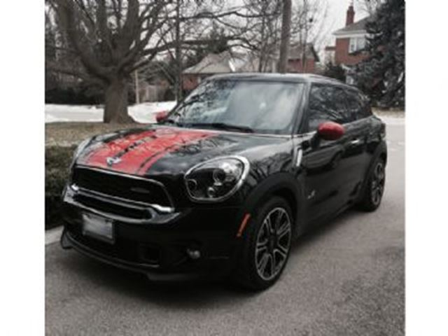 2014 Mini Paceman John Cooper Works All 4 Awd Black For 489 In