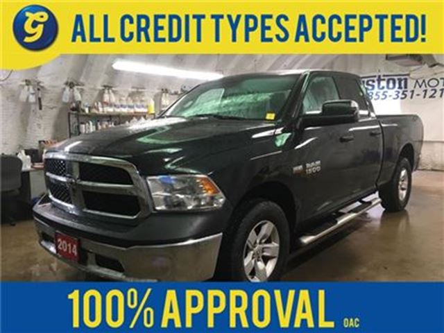2014 DODGE RAM 1500 SXT*QUAD CAB*4X4*HEMI*TRAILER BRAKE CONTROL*FOLDIN in Cambridge, Ontario