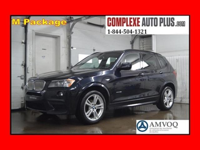 2013 BMW X3 xDrive35i M Sport Package *Toit pano. in Saint-Jerome, Quebec