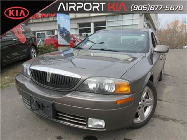 2002 LINCOLN LS V6 Auto LSE in Mississauga, Ontario