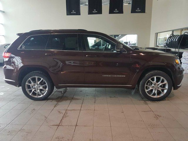 2015 JEEP GRAND CHEROKEE Summit - Heat+A/C Leather, Nav, B/U Cam, Sunroof + PWR Liftgate! in Red Deer, Alberta